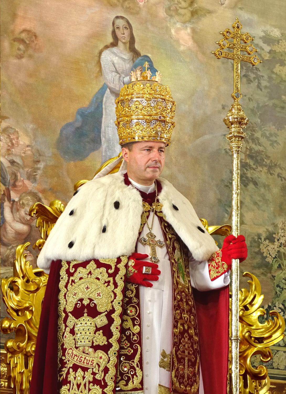 """<a href=""""/jego-swiatobliwosc-papiez-piotr-iii/"""" title=""""Jego Świątobliwość Papież Piotr III"""">Jego Świątobliwość Papież Piotr III, <br><i> De Glória Ecclésiæ </i><br><br>Szczęśliwie Panujący<br><br><br>  Zobacz więcej</a>"""